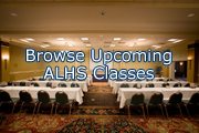 Browse Upcoming ALHS Classes